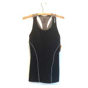 Reebok sport top with build in bra
